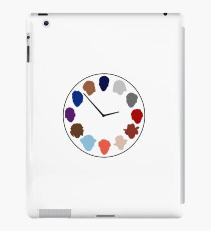 Doc Clock iPad Case/Skin