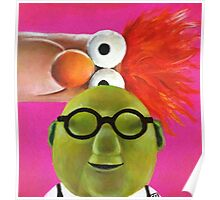 Bunsen and Beaker Poster