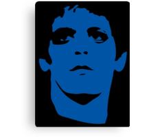 Lou Reed Blue Mask T Shirt Canvas Print