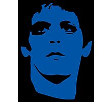 Lou Reed Blue Mask T Shirt Photographic Print