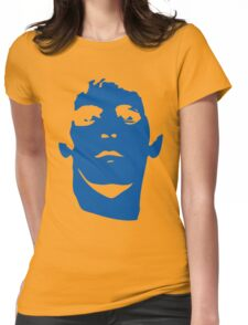 Lou Reed Blue Mask T Shirt Womens Fitted T-Shirt