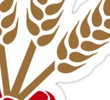 Wheat bow Sticker