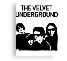 Velvet Underground T-Shirt Canvas Print