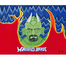 Waltered Beast Photographic Print