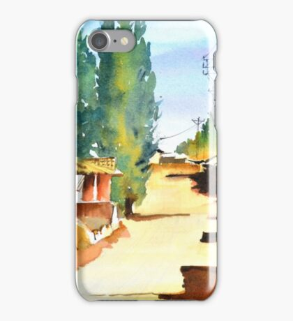 Rustic Charm iPhone Case/Skin