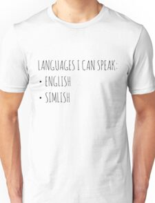 Languages I Can Speak Unisex T-Shirt