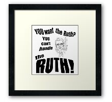 The Ruth Framed Print