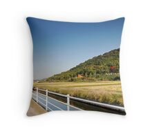 Soja Trail Throw Pillow