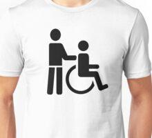 Wheelchair nurse Unisex T-Shirt