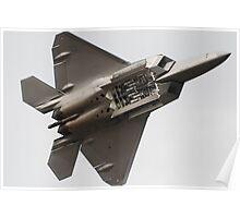 Underbelly - Raptor F22  Poster