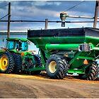 Grain Tractor by LocustFurnace