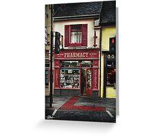 34 Main Street, Killarney. Ireland Greeting Card