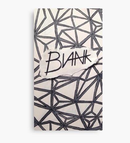 BLANK- OG Canvas Print