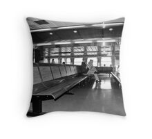 Statton Island Ferry Passenger Throw Pillow