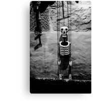 Puppet master just hanging around Canvas Print