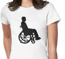 Wheelchair Womens Fitted T-Shirt