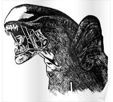 Alien Art Poster