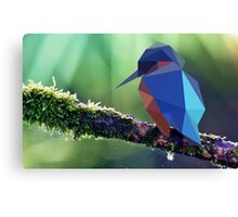 Low Poly - Bird Canvas Print