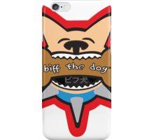 Biff the Dog Big Bone Inu Color Design iPhone Case/Skin