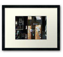 start Framed Print