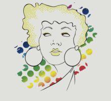 disco girl -yellow by Kitzekatze