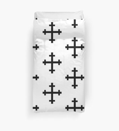 Cross crosslet Duvet Cover
