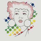 disco girl -red by Kitzekatze