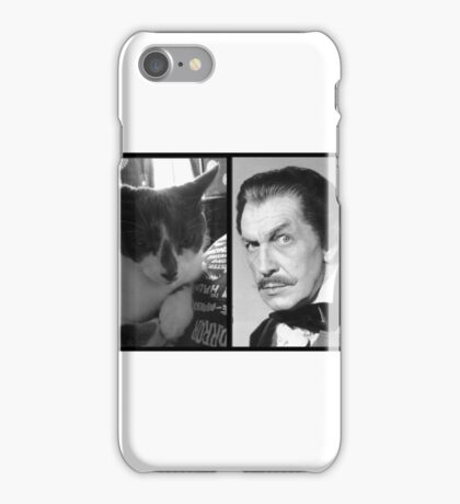 Vincent Price vs. Vincent Price, cat. iPhone Case/Skin