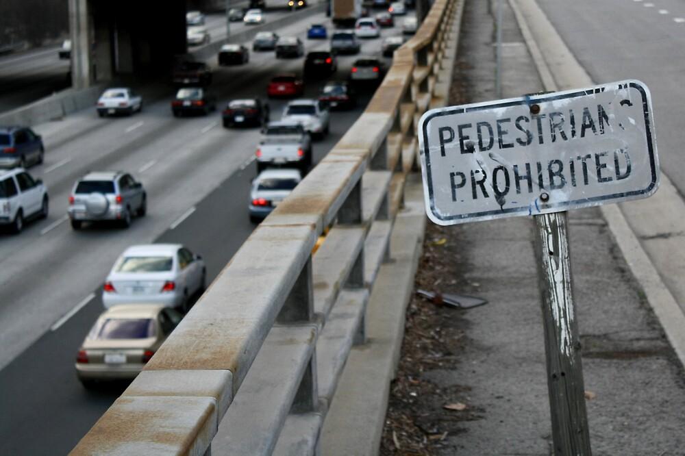 no pedestrians by fernando  mena
