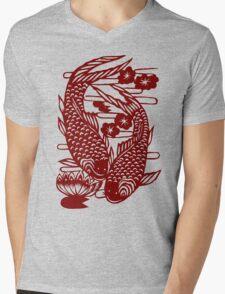 Carpe Carp Mens V-Neck T-Shirt
