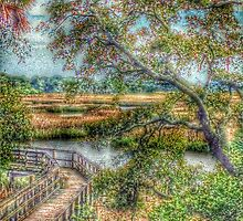 Marsh Boardwalk by Sallie Sprague