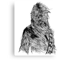 Chewy Art Canvas Print