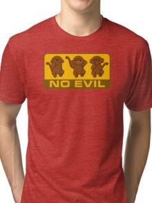 No Evil Tri-blend T-Shirt