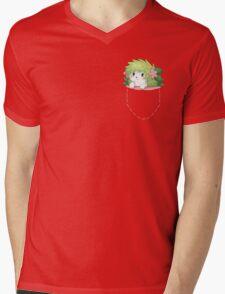 Shaymin on Pocket ! Mens V-Neck T-Shirt