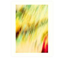 Scrambled Monet  Art Print