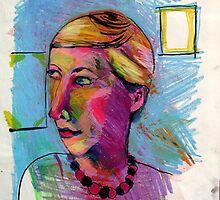 Self Portrait by Rina Miriam  Drescher