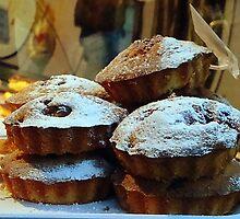 Cakes at Borough market by fruitcake