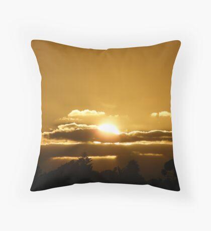 Sunset Viewed From Trigg. Throw Pillow