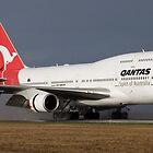 Qantas Landing by wolfcat