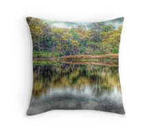 Reflections at High Tide Throw Pillow