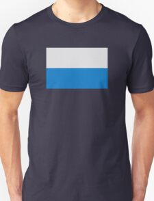 Blue white flag bavaria Unisex T-Shirt