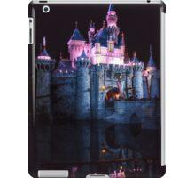 Sleeping beauty castle Disneyland  iPad Case/Skin