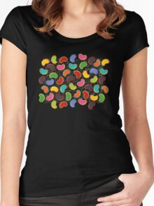 Jellybeans Madness Women's Fitted Scoop T-Shirt