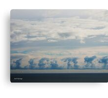 Written in the Sky Canvas Print