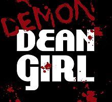 DEMON Dean Girl by WaisChoice