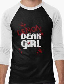 DEMON Dean Girl Men's Baseball ¾ T-Shirt