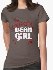 DEMON Dean Girl Womens Fitted T-Shirt