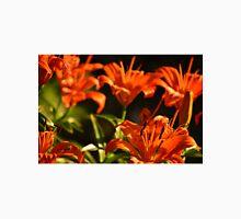 Fiery Lily Flowers Unisex T-Shirt