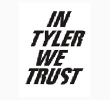 In tyler we trust Kids Tee