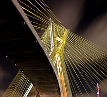 Ponte Estaiada - Sao Paulo by WLphotography